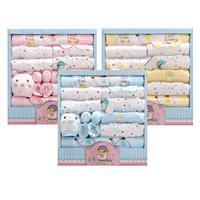 (14pcs/set) Newborn Baby 0 6M Clothing Set gift Baby Boy/Girl Clothes 100% Cotton clothing Kits