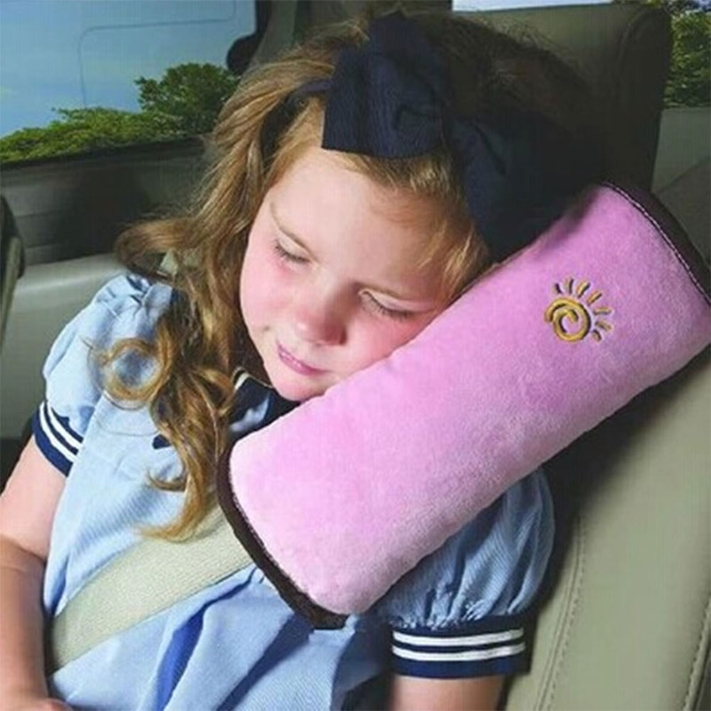 New Baby Pillow Kid Car Pillows Auto Safety Seat Belt Shoulder Cushion Pad Harness Protection Support Pillows For Kids Toddler