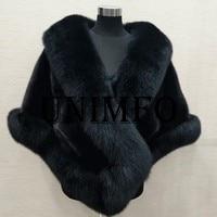 2019 Bridal Faux Fur Wraps Winter Wedding Coat Warm shawls Outerwear White Black Red Shrug Women Jacket Prom size 165*55 cm