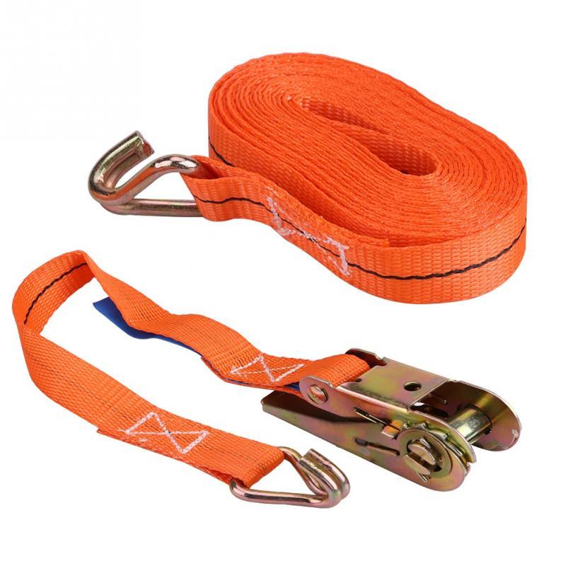 5.0 Metre 4 Pack Ratchet Tie Down Lashing Straps