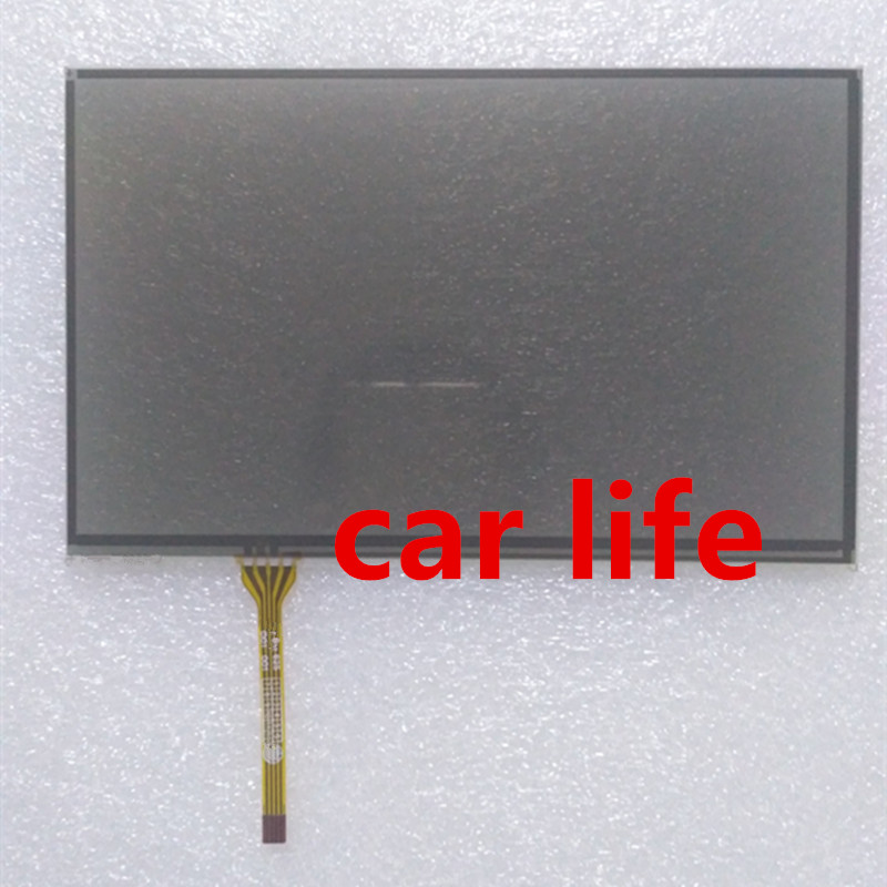 8 inch 4 pins Black glass touch Screen panel Digitizer Lens panel for DVD Player GPS