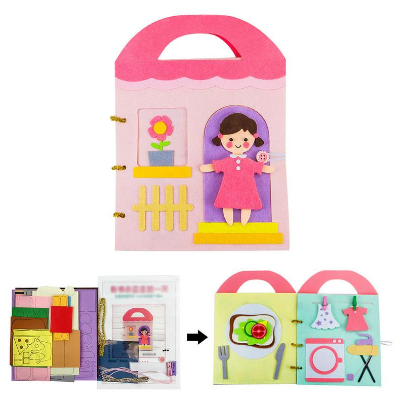 Soft Cloth Books Non-Woven Panting Book Manual Intelligence Puzzle Children Toy Book Early Education Development Reading BookSoft Cloth Books Non-Woven Panting Book Manual Intelligence Puzzle Children Toy Book Early Education Development Reading Book
