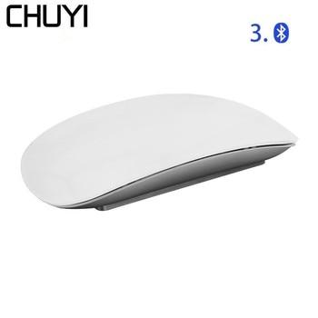 CHUYI Bluetooth Wireless Magic Mouse Slim Arc Touch Ergonomic Optical USB Computer Ultra-thin BT 3.0 Mice