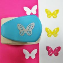 New Butterfly Size 5cm Craft Hole Punch Furador EVA Foam Puncher Kids Toys DIY Paper Cutter Maker Scrapbooking Embossing Device