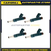 4pcs Fuel Injector Nozzle  1.8L 23250-37020 23209-37021 23250-37021 2325037020 2320937021 2325037021 For Toyota Prius