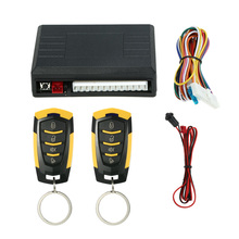 Universal Car Door Lock Keyless Entry with Trunk Release Button Remote Central Locking Kit