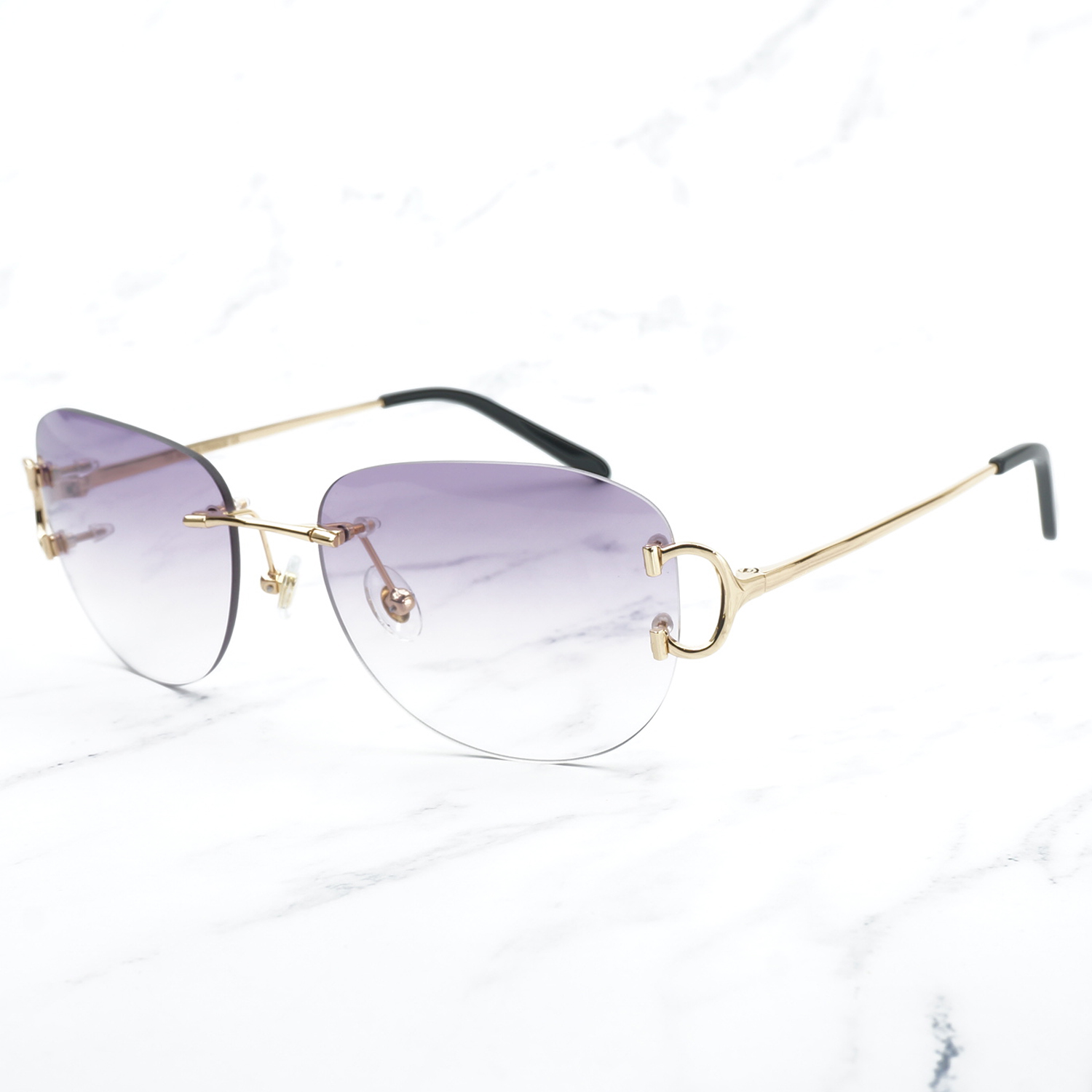 Vintage Pilot Sunglasses for Men Retro Carter Glasses Frame for Women A3 Wholesale Men Sunglass Promotion Female Glass Shades-in Women's Sunglasses from Apparel Accessories