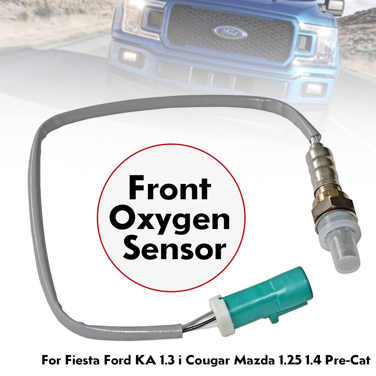 Oxygen Sensor O2 Front 2S6A-9F472-BB For Fiesta-Ford KA 1.3 i Cougar-Mazda 1.25 1.4 Pre-Cat 48cm Auto Replacement PartsOxygen Sensor O2 Front 2S6A-9F472-BB For Fiesta-Ford KA 1.3 i Cougar-Mazda 1.25 1.4 Pre-Cat 48cm Auto Replacement Parts