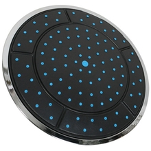 1 шт. 25 см пластиковая круглая форма с питанием от дождя душевая верхняя Душевая насадка на крышу аксессуары для шкафа