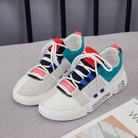 2019 New Shoes Woman Off White Sneakers Trainers Women Ladies Small Runway Breathable Chunky Casual Schoenen Vrouw Sock Womens