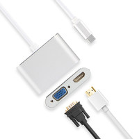 HUWEI USB C HDMI VGA Adapter Type C to HDMI 4K Thunderbolt 3 For Huawei Matebook 13 E X Pro Case Connect projector USB C HDMI TV