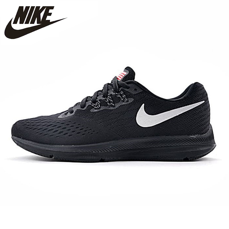 Nike ZOOM WINFLO 4 SHIELD Mens Running Shoes Wearable Non-slip Comfortable Lightweight Sneakers #898466-999Nike ZOOM WINFLO 4 SHIELD Mens Running Shoes Wearable Non-slip Comfortable Lightweight Sneakers #898466-999