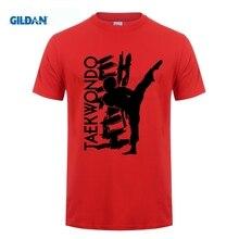 GILDAN men fashion tshirt Taekwondo T Shirt Short Sleeve T-shirts Top Boyfriend O-neck Funny Shirts