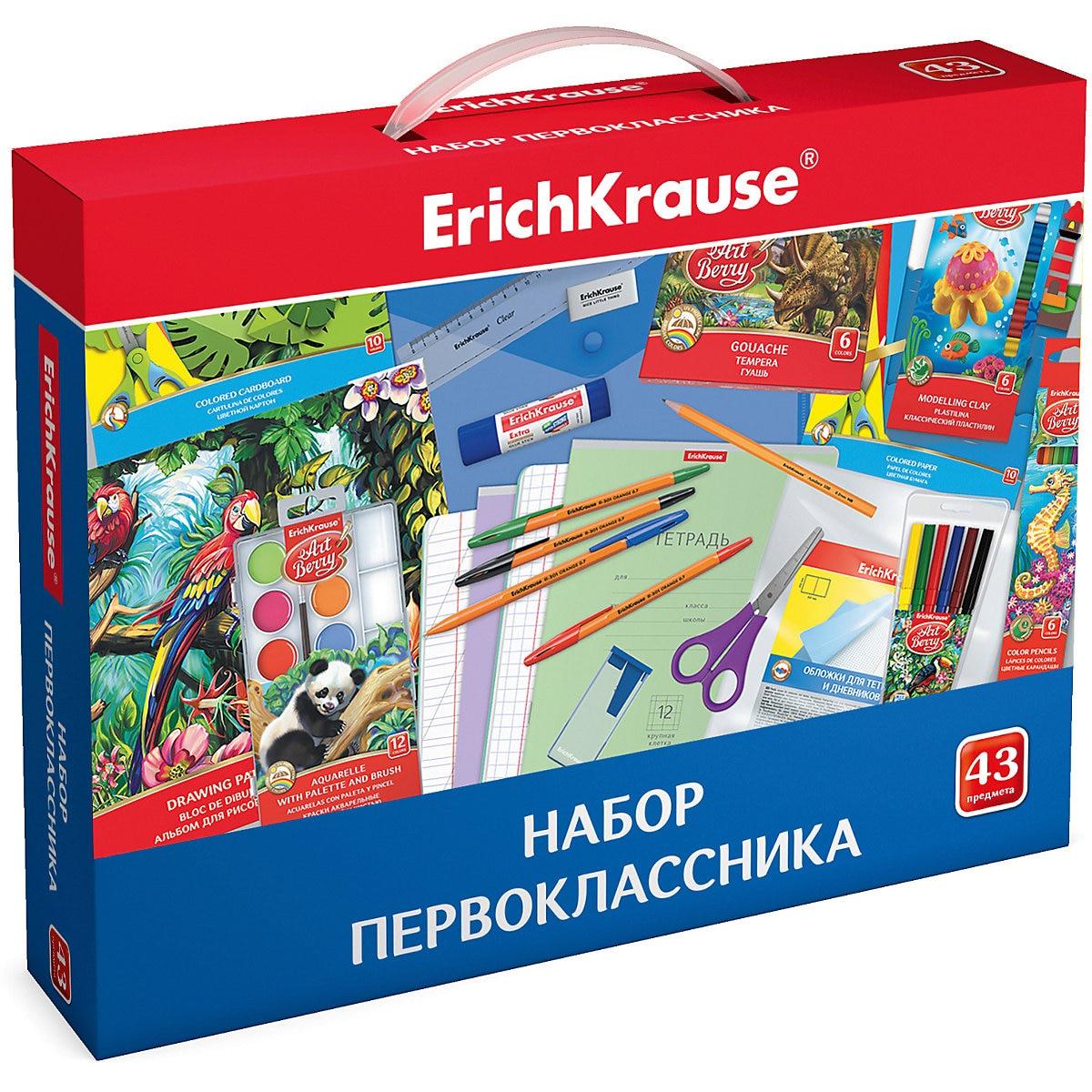 ErichKrause papelería 8961063 de primer grado de estudio de desarrollo de la educación MTpromo