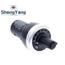 ShengYang LA42DWQ-22 1 к 2 к 5 к 10 к 22 мм Диаметр горшки поворотный потенциометр-преобразователь Регулятор инвертор сопротивление переключатель