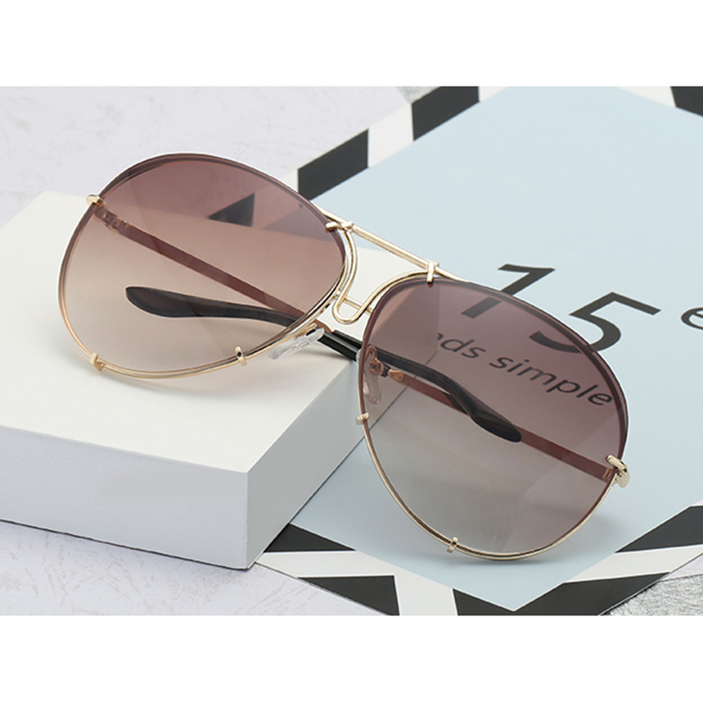 Vintage Fashion Sunglasses Metal Frame Sun Glasses Retro Eyewear Shades UV400 Protection Glasses for Men and Women