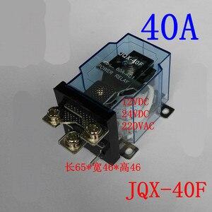 Jqx-40F/1Z Công Suất Cao Thứ Relay 12 V Đồ Chơi Xe 24 V Lạm Phát Xe 220V Sẽ Dòng Điện 60f