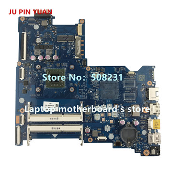 JU PIN YUAN 854961-601 854961-501 BDL51 LA-D711P mainboard for HP NOTEBOOK 15-BA 15Z-BA laptop motherboard A8-7410 fully Tested