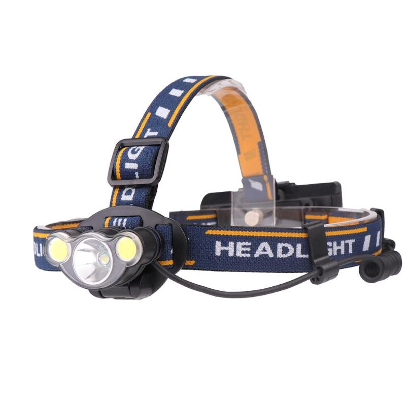 Lights & Lighting Headlamps Xhp50 Led 2000lm Headlamp Flashlight Rechargeable Camping Hunting Headlight Lantern Lamp Waterproof Head Torch Light