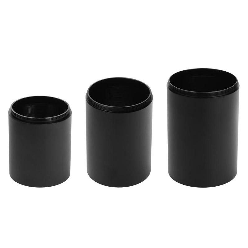 45/50/59mm Hunting Sunshade Tube For Pistol Rifle Scope Airsoft Telescope Aluminum Alloy Tactical Objective Lens For Outdoor