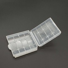Plastic Case Holder Storage Box Cover for 10440 14500 AA AAA Battery Box Container Bag Case Organizer Box Case(China)