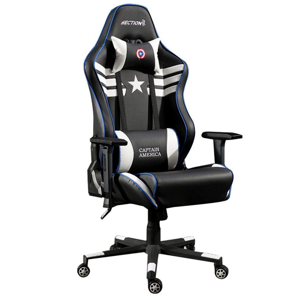 Genuine Leather Gaming Household Ergonomic Chair Student Internet Computer Seat Swivel Office Accessories Furniture