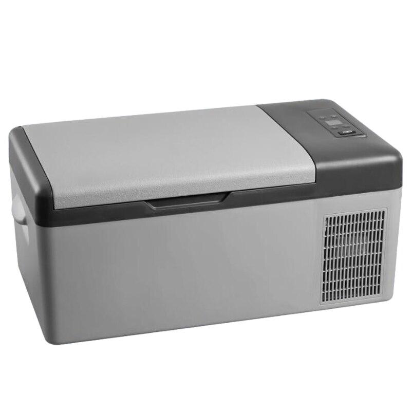 15L Frigo 12 V/24 V Led Digital Portable Compressore Frigorifero Auto Fermo per la Casa di Viaggio-20 Gradi auto di Raffreddamento Freezer