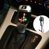 Car LED Gear Shift Knob Shifter Lever for BMW E46 E60 E61for Right and drive only LHD Automatic Gear Head