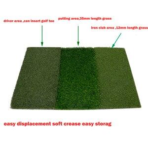 Image 2 - גולף דשא מחצלת כוללת הדוק שקר מחוספס ומעבר פתוח עבור נהיגה ולשים בפועל גולף והכשרה 3 ב  1 דשא דשא מחצלת