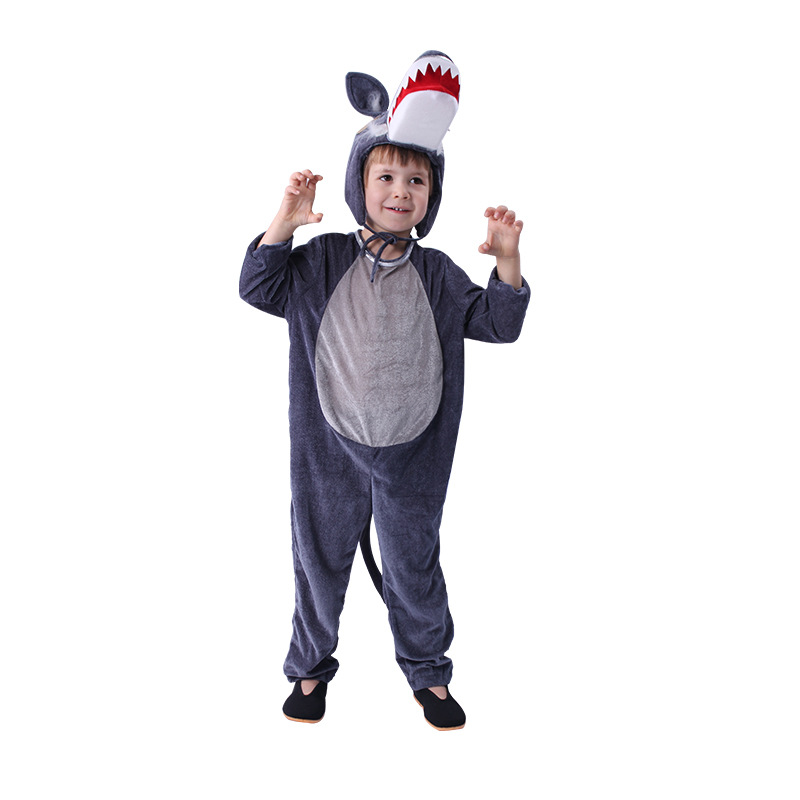 Wolf Costume Kids Boys Animal Costume For Kids Children Red Riding Hood Halloween Costume Cosplay Suit