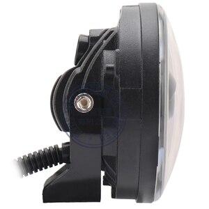 Image 3 - Новый Белый DRL 12 в 30 Вт внедорожный светодиодный противотуманный светильник для внедорожников, автомобилей, рыбалки, лодок, светильник ing