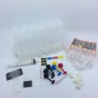 YOTAT cartucho de tinta de cor CISS 6 PGI250 PGI-250 CLI-251 para Canon PIXMA MG6320 MG7120 iP8720 MG7520