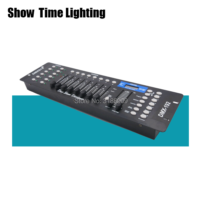 SHOW TIME 192 DMX Console Stage Lighting Controller DMX-192 DMX-512 Moving Head Led Par Controller DMX Show Dieliquer