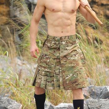 Tkanina w kratę Camo szorty taktyczne spódnica mężczyźni kobiety trening na świeżym powietrzu wspinaczka polowanie Camping luźne odporne na zużycie taktyki armii dna tanie i dobre opinie PAVEHAWK Poliester COTTON Camping i piesze wycieczki Pasuje prawda na wymiar weź swój normalny rozmiar Gore tex xcr Drukuj