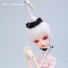 OUENEIFS Queena DC bjd sd doll 1/4 body model baby girls boys dolls eyes High Quality toys shop make up resin(China)