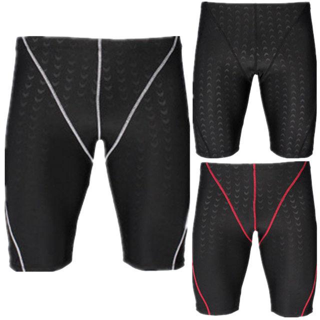 18622fcabfc3f Plus Size Men Swim Shorts Swimwear Swimming Trunks Underwear Boxer Slim Fit  Trunk Swimming Clothes