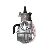 24mm PWK Cable Choke Carb Carburetor For Bike Motorcycle ATV Scooter Engine Car Motorcycle Snowblower Chainsaw Accessories