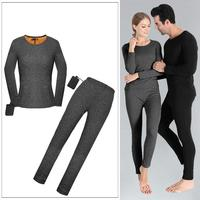 Men Woman Ski Thermal Underwear Set Quick Dry Functional Compression Tracksuit Fitness Tight Shirts Sport Sport Suits