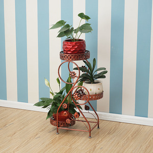 Image 5 - Decorative Metal Dekoru Sera Dekarosyon Mensole Per Fiori Afscherming Shelf Plant Stand Balkon Balcony Flower Iron Rack
