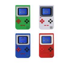 В стиле ретро 2 дюймов Цвет ЖК-дисплей Экран мини портативная игровая консоль встроенный 268 классические без повтора для FC игры игровая консоль для детей