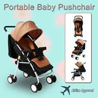 Baby Strollers Ultra Lightweight Folding Can Sit Can Lie High Landscape Umbrella Baby Trolley Summer and Winter