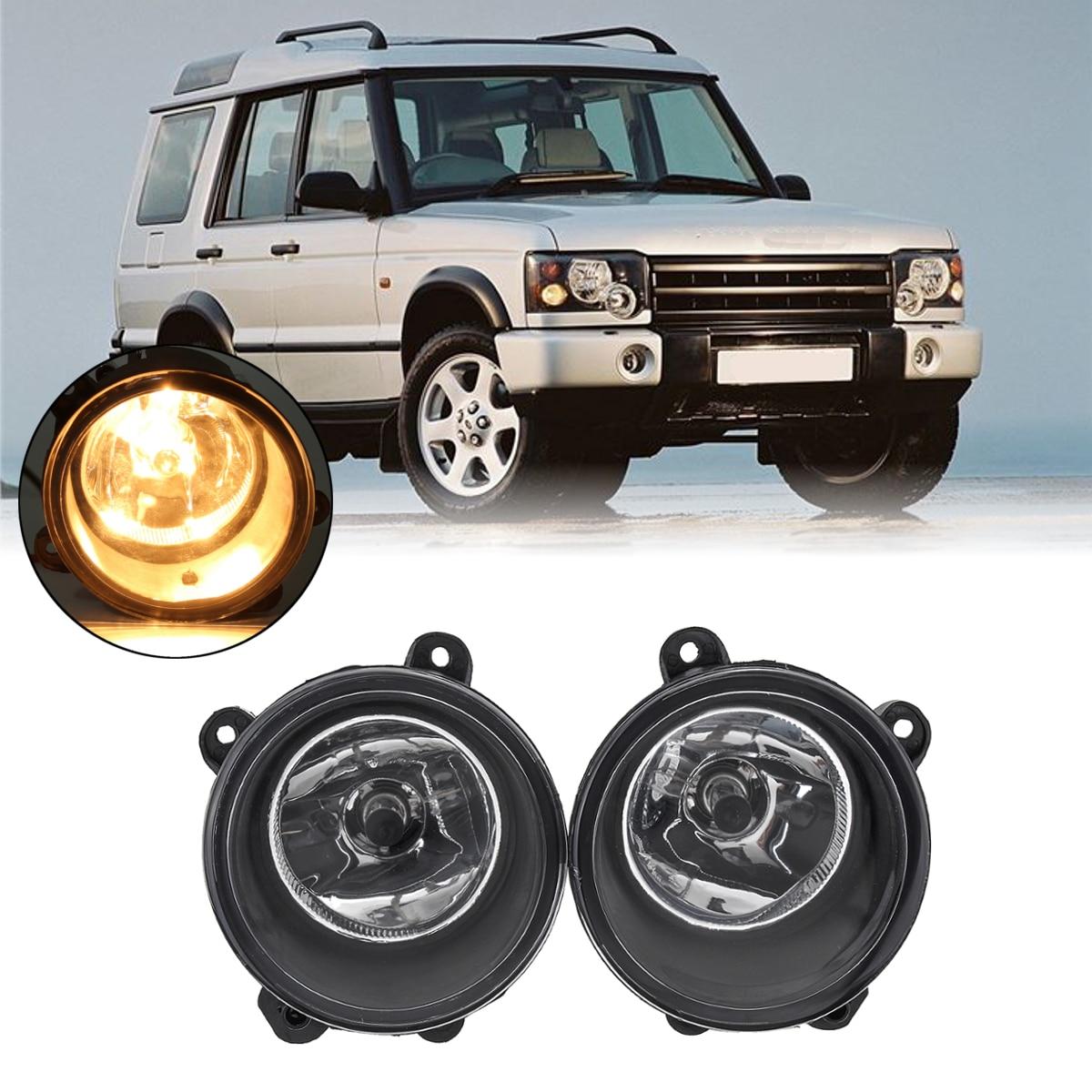 Пара Противотуманные фары ясно лампы с H11 лампы для Land Rover Discovery 3X2 2003 2004 2005 2006 2007 2008 2009 Спорт 2005-2009