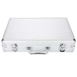 Image 5 - 24 Grid Aluminum Suitcase Case Display Storage Box Watch Storage Box Case Watch Bracket Clock Watch Clock Box