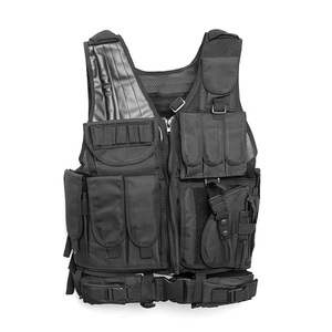 Men's Vest Camouflage Body Vest Molle Armor Outdoor Jungle Equipment|Hunting Vests| |  -