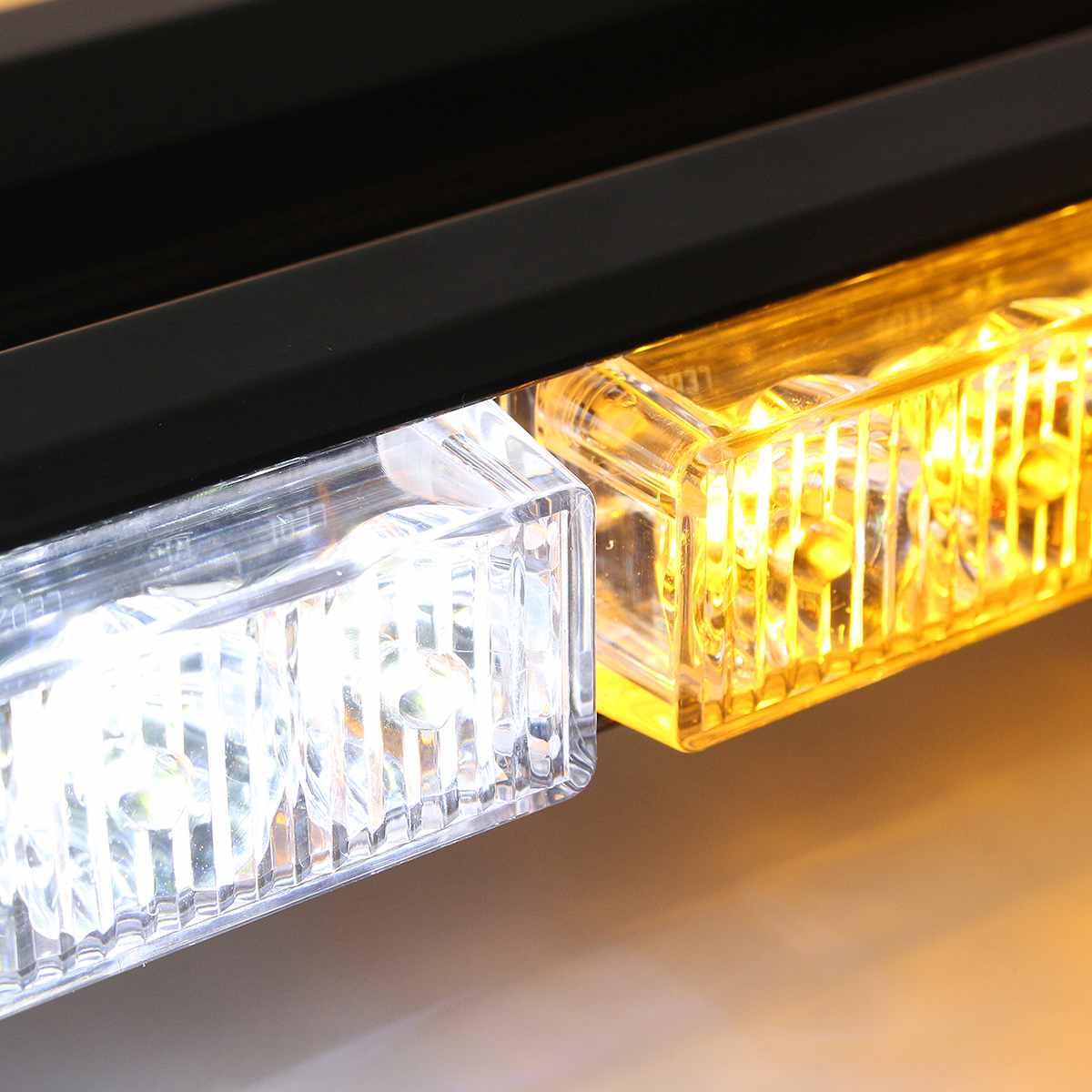 30 W 4 Ambra colore luci di nebbia lampade In Alluminio Pressofuso Borsette per 2007 2016 Je ep wra ngler JK 2 Door/2009 2013 Dodge Journey - 2