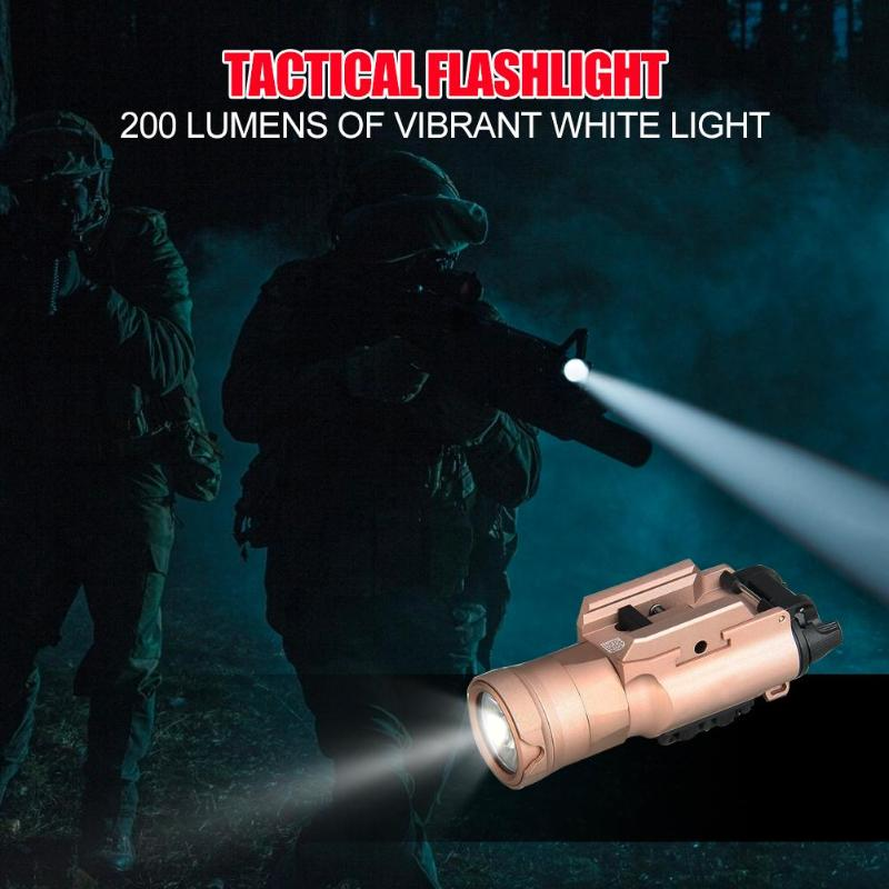 Mini Light QD 15-0126 Quick Detach Handgun Flashlight LED Torch Hunting Accessories Texture picks for optimum non-slip gripMini Light QD 15-0126 Quick Detach Handgun Flashlight LED Torch Hunting Accessories Texture picks for optimum non-slip grip