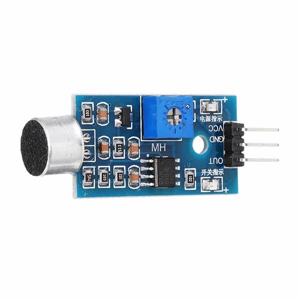 LEORY DIY Microphone Module Sound Sensor Voice Sensor High Sensitivity Sound Detection Module Whistle Module AmplifierLEORY DIY Microphone Module Sound Sensor Voice Sensor High Sensitivity Sound Detection Module Whistle Module Amplifier