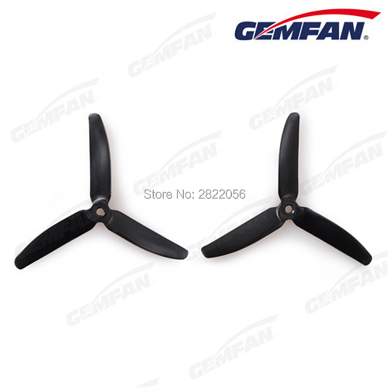 7 colors <font><b>5040</b></font> 5.0x4.0 FPV Nylon glass fiber 3 propeller <font><b>Prop</b></font> Blade CW CCW shaft through the machine more special motor 1806-2205 image