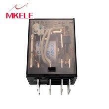 цена на HHC68B-4Z Intermediate Solid State Relay HH54P AC220V DC24V 12 V Small Magnetic MY4N - J 14 Feet