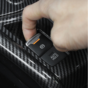 Image 3 - For Mazda CX 5 CX5 2017 2018 ABS Carbon Fiber Texture Car Gear Shift Panel Cover ONLY LHD